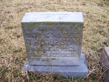 THOMPSON, INFANT - Adams County, Ohio | INFANT THOMPSON - Ohio Gravestone Photos