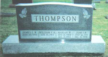 THOMPSON, JAMES R. - Adams County, Ohio | JAMES R. THOMPSON - Ohio Gravestone Photos