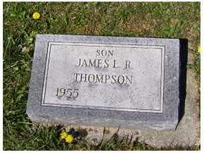 THOMPSON, JAMES L.R. - Adams County, Ohio   JAMES L.R. THOMPSON - Ohio Gravestone Photos