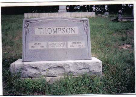 THOMPSON, EDWARD - Adams County, Ohio | EDWARD THOMPSON - Ohio Gravestone Photos