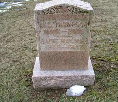 THOMPSON, W. E. - Adams County, Ohio | W. E. THOMPSON - Ohio Gravestone Photos
