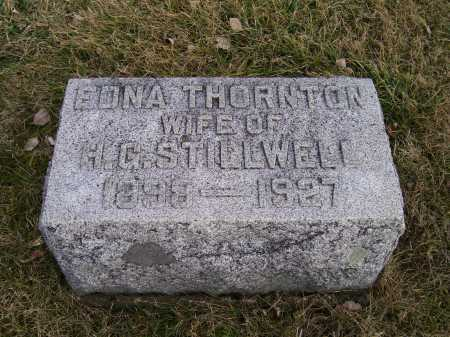 THORNTON, EDNA - Adams County, Ohio | EDNA THORNTON - Ohio Gravestone Photos