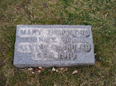 THORNTON, MARY - Adams County, Ohio | MARY THORNTON - Ohio Gravestone Photos
