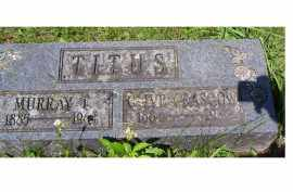 GLASGOW TITUS, OLIVE - Adams County, Ohio | OLIVE GLASGOW TITUS - Ohio Gravestone Photos