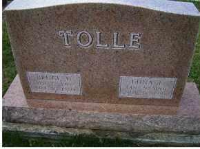 TOLLE, EDNA L. - Adams County, Ohio   EDNA L. TOLLE - Ohio Gravestone Photos