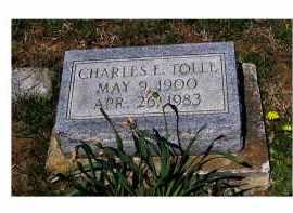 TOLLE, CHARLES E. - Adams County, Ohio   CHARLES E. TOLLE - Ohio Gravestone Photos