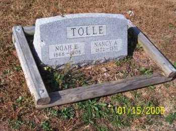 TOLLE, NOAH - Adams County, Ohio   NOAH TOLLE - Ohio Gravestone Photos