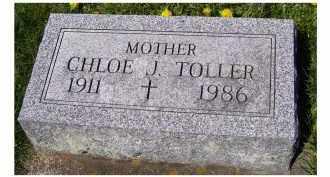 TOLLER, CHLOE J. - Adams County, Ohio   CHLOE J. TOLLER - Ohio Gravestone Photos