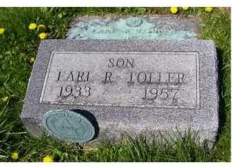 TOLLER, EARL R. - Adams County, Ohio | EARL R. TOLLER - Ohio Gravestone Photos