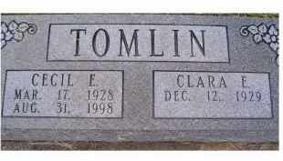 TOMLIN, CLARA E. - Adams County, Ohio   CLARA E. TOMLIN - Ohio Gravestone Photos