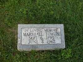 TOMLIN, MARSHALL - Adams County, Ohio   MARSHALL TOMLIN - Ohio Gravestone Photos