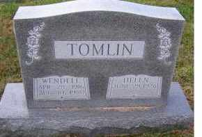 TOMLIN, HELEN - Adams County, Ohio | HELEN TOMLIN - Ohio Gravestone Photos