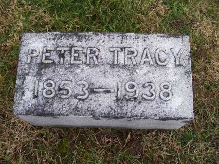 TRACY, PETER - Adams County, Ohio   PETER TRACY - Ohio Gravestone Photos
