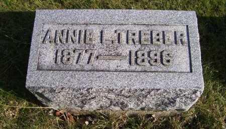 TREBER, ANNIE L. - Adams County, Ohio | ANNIE L. TREBER - Ohio Gravestone Photos