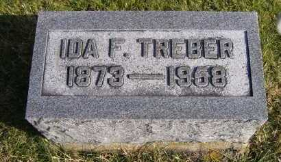 TREBER, IDA F. - Adams County, Ohio   IDA F. TREBER - Ohio Gravestone Photos