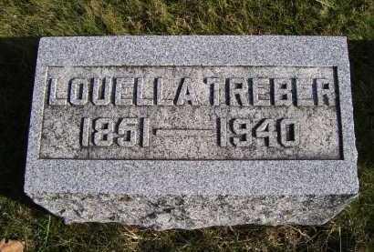 TREBER, LOUELLA - Adams County, Ohio   LOUELLA TREBER - Ohio Gravestone Photos