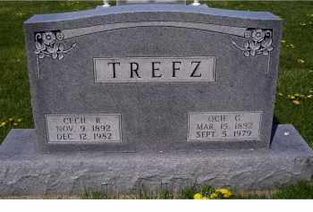 TREFZ, CECIL B. - Adams County, Ohio | CECIL B. TREFZ - Ohio Gravestone Photos