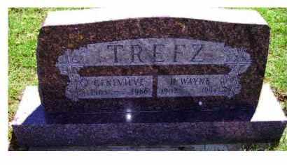 TREFZ, H. WAYNE - Adams County, Ohio   H. WAYNE TREFZ - Ohio Gravestone Photos