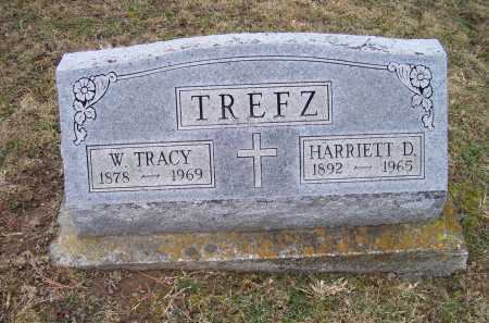 TREFZ, HARRIETT D. - Adams County, Ohio | HARRIETT D. TREFZ - Ohio Gravestone Photos