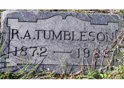 TUMBLESON, R. A. - Adams County, Ohio   R. A. TUMBLESON - Ohio Gravestone Photos