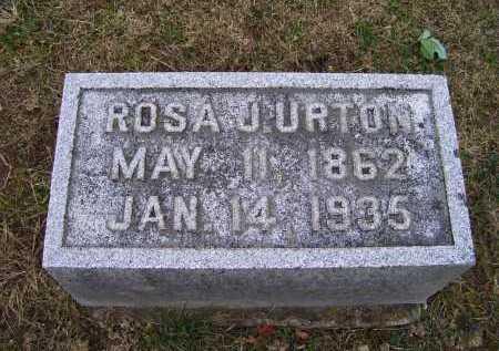 URTON, ROSA J. - Adams County, Ohio | ROSA J. URTON - Ohio Gravestone Photos