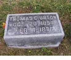 URTON, THOMAS C. - Adams County, Ohio | THOMAS C. URTON - Ohio Gravestone Photos