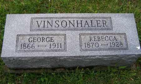 VINSONHALER, REBECCA - Adams County, Ohio | REBECCA VINSONHALER - Ohio Gravestone Photos