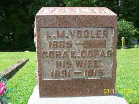 VOGLER, LUTHER M - Adams County, Ohio | LUTHER M VOGLER - Ohio Gravestone Photos