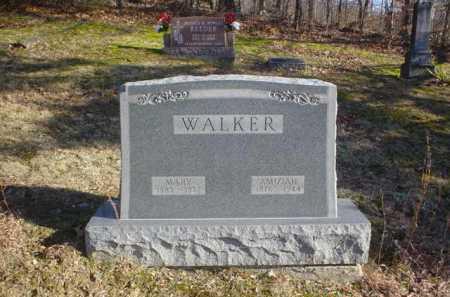 WALKER, AMIZIAH - Adams County, Ohio | AMIZIAH WALKER - Ohio Gravestone Photos