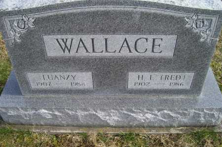 WALLACE, LUANZY - Adams County, Ohio | LUANZY WALLACE - Ohio Gravestone Photos
