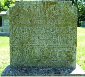 WALLACE, MARY C. - Adams County, Ohio | MARY C. WALLACE - Ohio Gravestone Photos