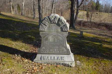WALLAR, NOLENA I. - Adams County, Ohio   NOLENA I. WALLAR - Ohio Gravestone Photos