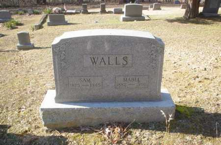 WALLS, MABEL - Adams County, Ohio | MABEL WALLS - Ohio Gravestone Photos