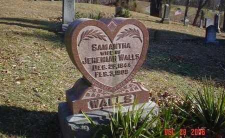 WALLS, SAMANTHA - Adams County, Ohio   SAMANTHA WALLS - Ohio Gravestone Photos