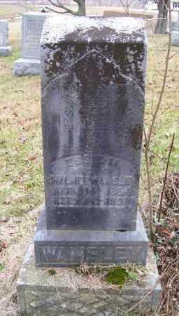 WAMSLEY, ESSIE M. - Adams County, Ohio | ESSIE M. WAMSLEY - Ohio Gravestone Photos