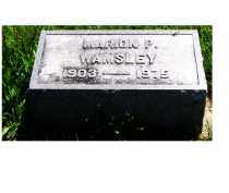 WAMSLEY, MARION P. - Adams County, Ohio | MARION P. WAMSLEY - Ohio Gravestone Photos