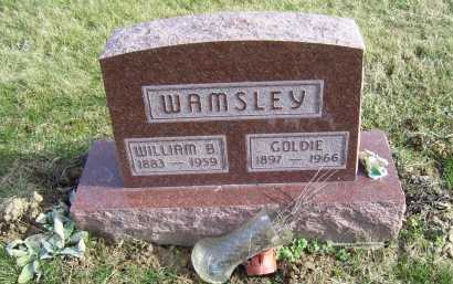 WAMSLEY, WILLIAM B. - Adams County, Ohio | WILLIAM B. WAMSLEY - Ohio Gravestone Photos