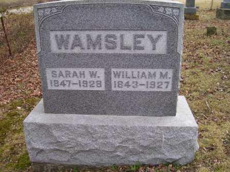 WAMSLEY, SARAH W. - Adams County, Ohio   SARAH W. WAMSLEY - Ohio Gravestone Photos