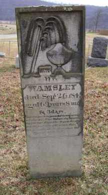 WAMSLEY, WILLIAM - Adams County, Ohio   WILLIAM WAMSLEY - Ohio Gravestone Photos