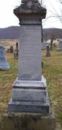 WAMSLEY, WM. FINLY - Adams County, Ohio | WM. FINLY WAMSLEY - Ohio Gravestone Photos