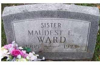 WARD, MAUDEST E. - Adams County, Ohio | MAUDEST E. WARD - Ohio Gravestone Photos