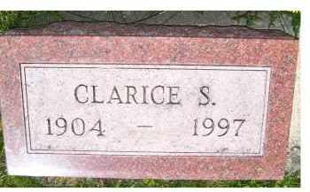 WASHBURN, CLARICE S. - Adams County, Ohio   CLARICE S. WASHBURN - Ohio Gravestone Photos