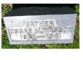 WASSON, OSCAR M. - Adams County, Ohio   OSCAR M. WASSON - Ohio Gravestone Photos