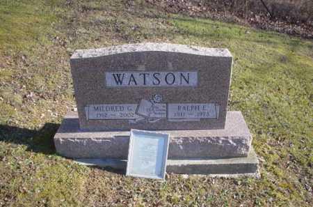 WATSON, MILDRED G. - Adams County, Ohio | MILDRED G. WATSON - Ohio Gravestone Photos