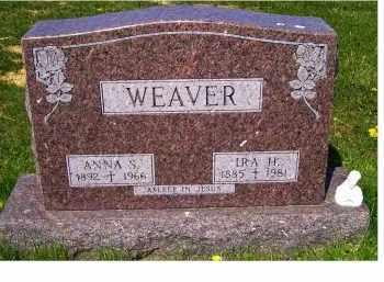 WEAVER, ANNA S. - Adams County, Ohio | ANNA S. WEAVER - Ohio Gravestone Photos