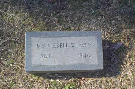 WEAVER, MINNIEBELL - Adams County, Ohio | MINNIEBELL WEAVER - Ohio Gravestone Photos