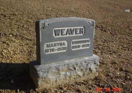 WEAVER, MARTHA - Adams County, Ohio | MARTHA WEAVER - Ohio Gravestone Photos