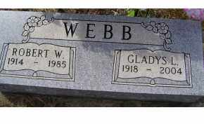 WEBB, GLADYS L. - Adams County, Ohio | GLADYS L. WEBB - Ohio Gravestone Photos