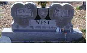 WEST, BONNIE BELLE - Adams County, Ohio | BONNIE BELLE WEST - Ohio Gravestone Photos