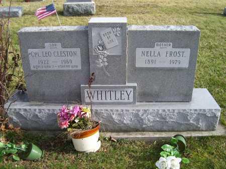 WHITLEY, LEO CLESTON - Adams County, Ohio   LEO CLESTON WHITLEY - Ohio Gravestone Photos